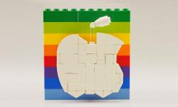 apple store 5th avenue réalisé entièrement en lego vignette 2