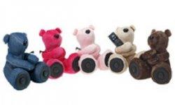 hi george ours en peluche haut parleur smartphone ios android
