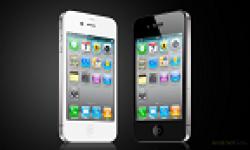 iphone 4 blanc noir vignette