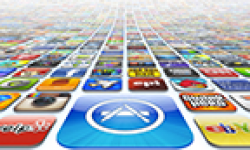 itunes app store icon vignette head