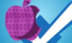 logo foursquare apple vignette head