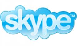 logo skype vignette head