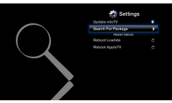 nitotv apple tv version 0.3 refined screen