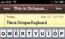 Octopus Keyboard Cydia tweak clavier blackberry 10 ios vignette