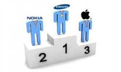 samsung nokia apple classement ventes de telephone