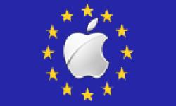 Vignette Icone Head Apple Logo Drapeau Europeen 04052011