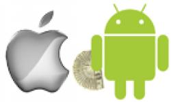 vignette icone head logo apple robot android dollars