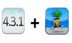 vignette iOS 4.3.1 jailbreak pwnagetool