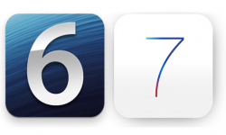 vignette ios6 vs ios7