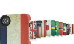 vintage coque de protection apple store iphone 4s drapeau des pays vignette