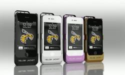 yellow jacket coque de protection iphone avec taser intégré vignette