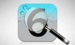 ios 6 loupe vignette head