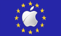 Vignette Icone Head Apple Logo Drapeau Europeen 04052011